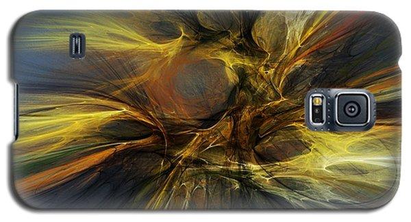 Galaxy S5 Case featuring the digital art Dawn Of Enlightment by David Lane