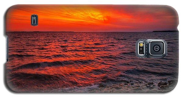 Dawn On Lake Erie Galaxy S5 Case