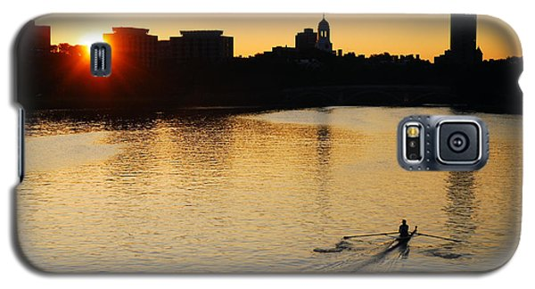 Galaxy S5 Case featuring the photograph Dawn On The Charles by James Kirkikis