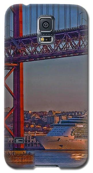 Dawn On The Harbor Galaxy S5 Case