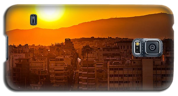 Dawn Over Athens Galaxy S5 Case
