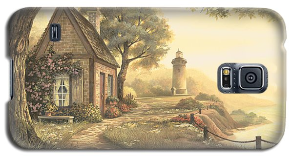Galaxy S5 Case featuring the painting Dawn's Early Light by Michael Humphries