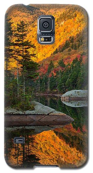 Dawns Foliage Reflection Galaxy S5 Case by Jeff Folger