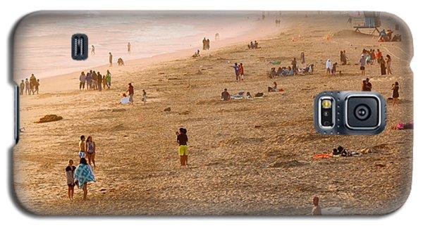 Galaxy S5 Case featuring the photograph Day At The Beach - Sunset Huntington Beach California by Ram Vasudev