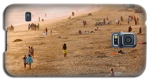 Day At The Beach - Sunset Huntington Beach California Galaxy S5 Case