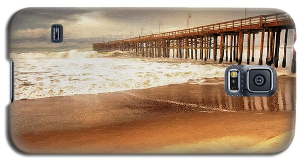 Day At The Pier Large Canvas Art, Canvas Print, Large Art, Large Wall Decor, Home Decor, Photograph Galaxy S5 Case by David Millenheft