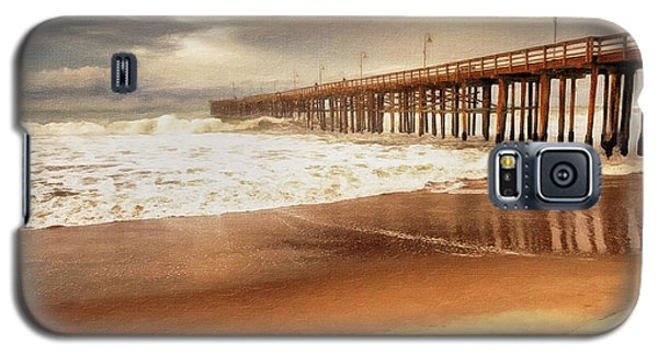 Day At The Pier Large Canvas Art, Canvas Print, Large Art, Large Wall Decor, Home Decor, Photograph Galaxy S5 Case