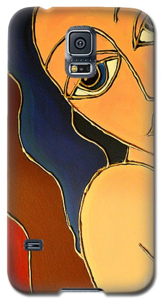 Galaxy S5 Case featuring the painting Day Dream by Cynthia Snyder