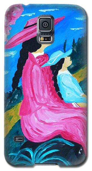 Day In The Park Galaxy S5 Case
