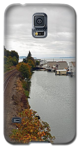 Day Island Bridge View 2 Galaxy S5 Case