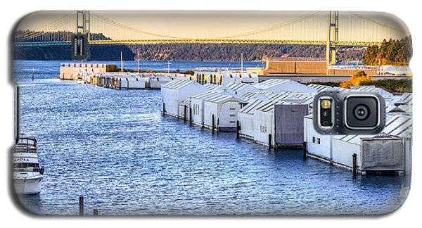 Day Island Marina And Narrows Bridges Galaxy S5 Case