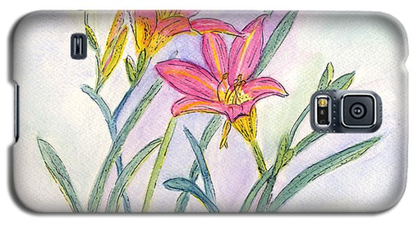 Day Lilies Galaxy S5 Case