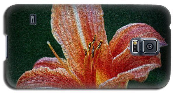 Day Lily Rapture Galaxy S5 Case
