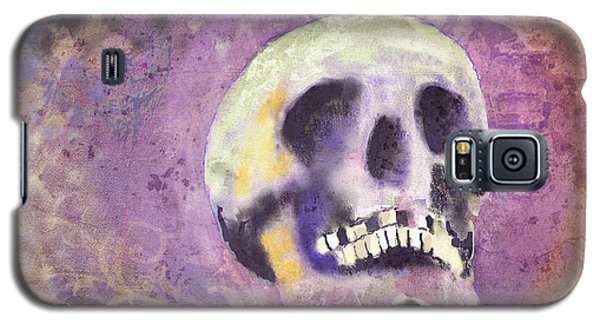 Galaxy S5 Case featuring the digital art Day Of The Dead by Arline Wagner