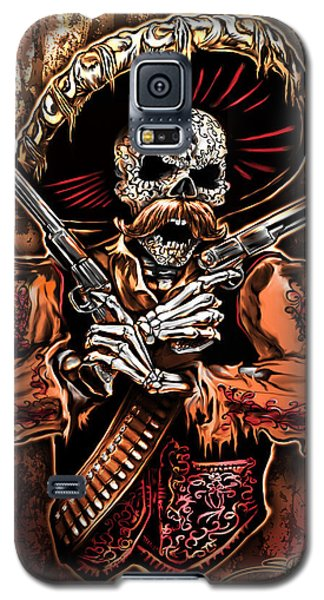 Day Of The Dead Gunslinger Galaxy S5 Case
