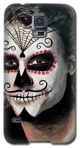 Day Of The Dead - Heath Ledger Galaxy S5 Case by Tom Carlton