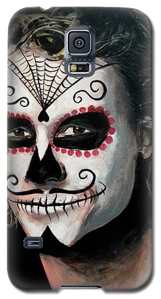 Day Of The Dead - Heath Ledger Galaxy S5 Case by Tom Carlton
