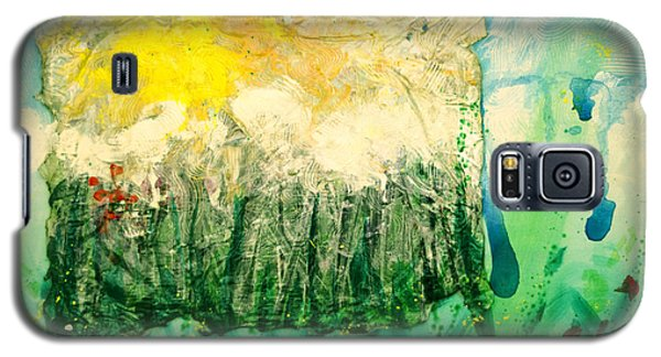 Galaxy S5 Case featuring the painting Day Tripping by Ron Richard Baviello