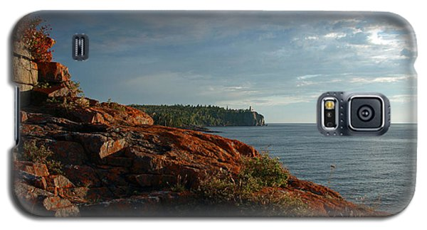 Daybreak At Campsite 19 Galaxy S5 Case by James Peterson