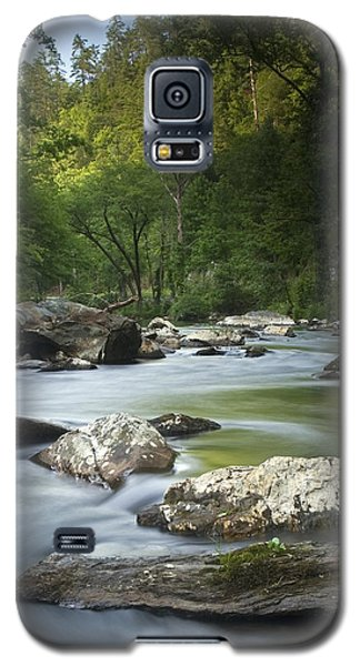 Daybreak In The Valley Galaxy S5 Case by Andy Crawford