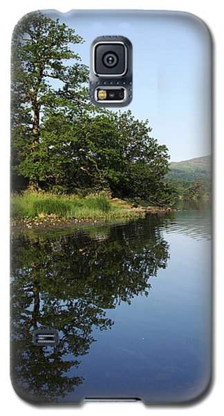 Daybreaks At Rydal Water Galaxy S5 Case by Graham Hawcroft pixsellpix