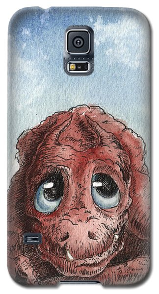 Galaxy S5 Case featuring the painting Daydreamer by Sean Seal