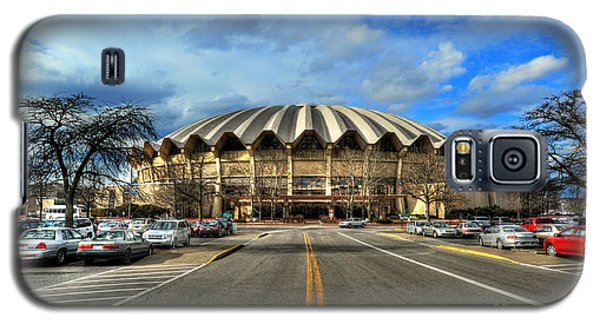 Daylight Of Wvu Basketball Coliseum Arena Galaxy S5 Case