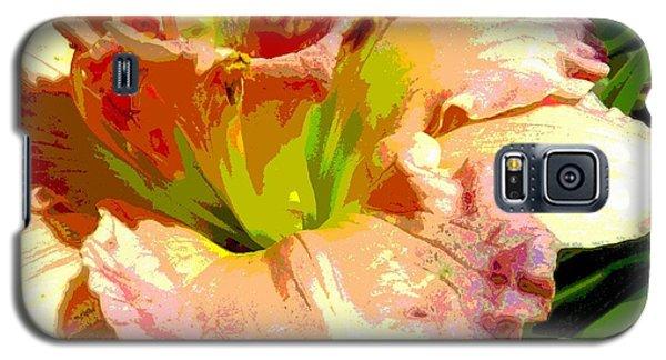 Daylily 1 Galaxy S5 Case by Sally Simon