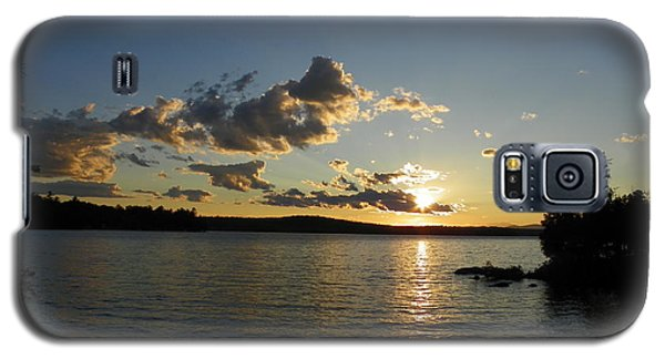 Day's End At Schoodic Lake Galaxy S5 Case