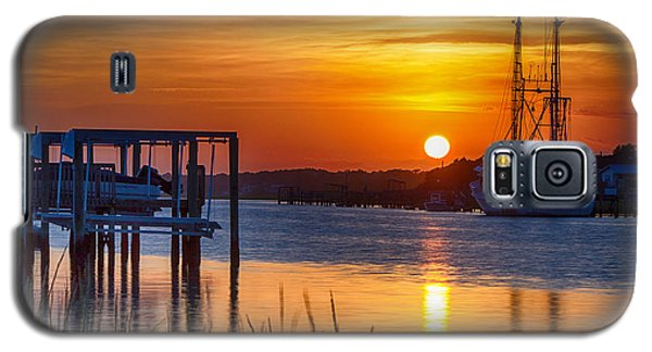 Days End On Water Galaxy S5 Case