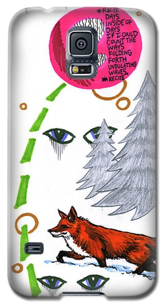 Galaxy S5 Case featuring the drawing Days Inside Of Days by John Ashton Golden