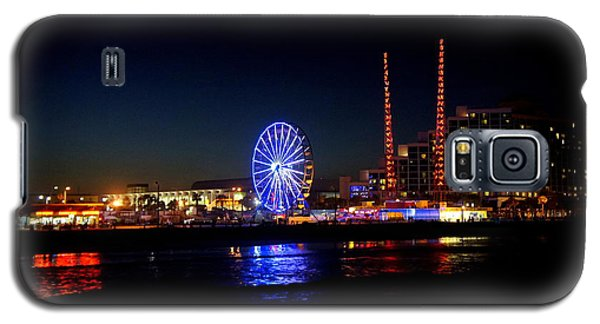 Galaxy S5 Case featuring the photograph Daytona At Night by Laurie Perry