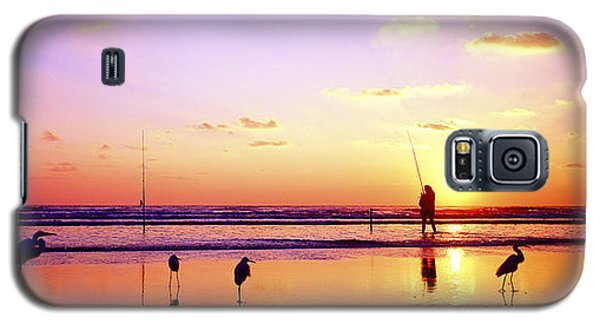 Daytona Beach Fl Surf Fishing And Birds Galaxy S5 Case