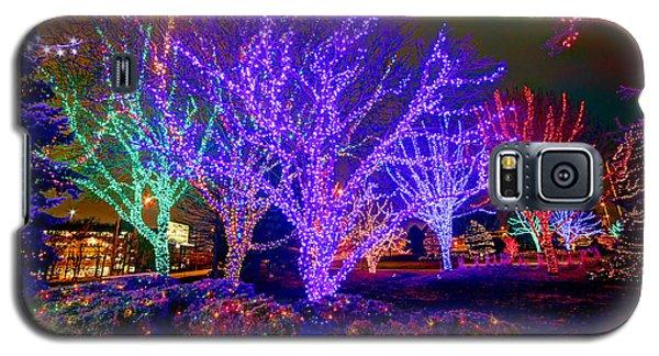 Dazzling Christmas Lights Galaxy S5 Case