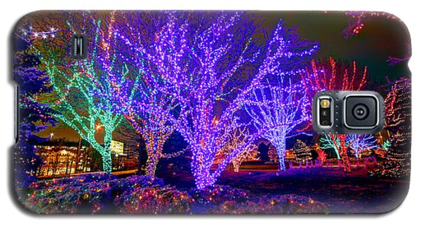 Dazzling Christmas Lights Galaxy S5 Case by Martin Konopacki