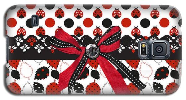 Dazzling Ladybugs  Galaxy S5 Case by Debra  Miller