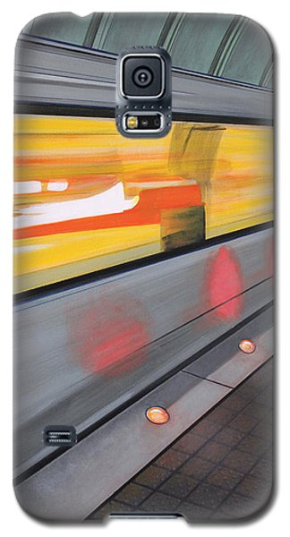 Galaxy S5 Case featuring the painting Dc Light Rail by Jude Labuszewski