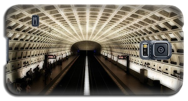 Galaxy S5 Case featuring the photograph Dc Metro by Angela DeFrias