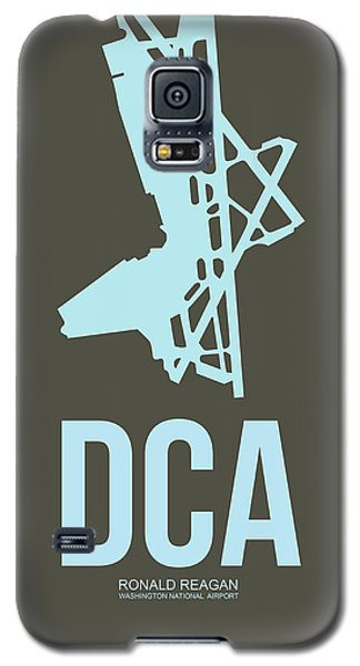 Dca Washington Airport Poster 1 Galaxy S5 Case by Naxart Studio