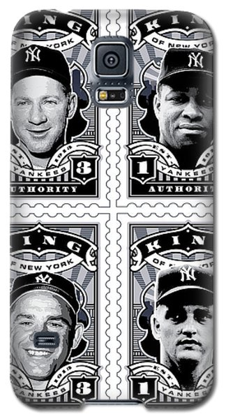Dcla Kings Of New York Combo Stamp Artwork 2 Galaxy S5 Case by David Cook Los Angeles