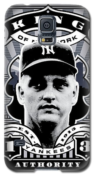 Dcla Roger Maris Kings Of New York Stamp Artwork Galaxy S5 Case by David Cook Los Angeles