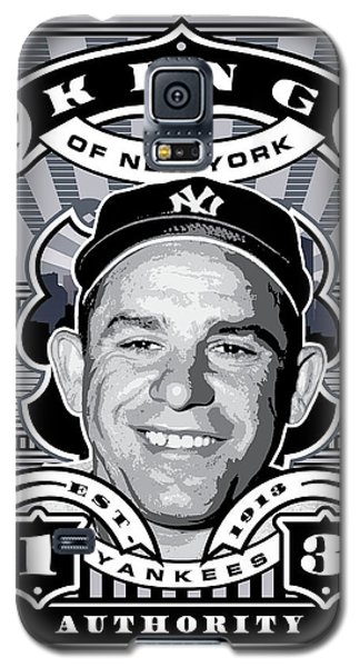 Dcla Yogi Berra Kings Of New York Stamp Artwork Galaxy S5 Case by David Cook Los Angeles