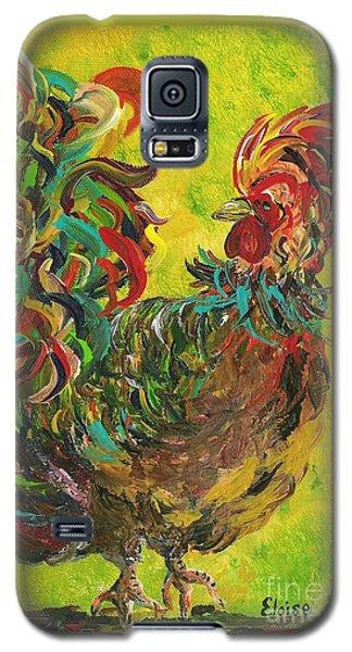 De Colores Rooster #2 Galaxy S5 Case