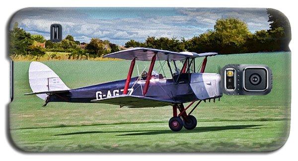 De Havilland Tiger Moth 2 Galaxy S5 Case