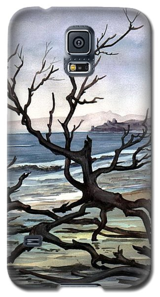 Galaxy S5 Case featuring the painting Dead Sea Inhabitant by Mikhail Savchenko
