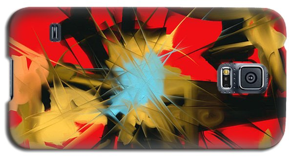 Galaxy S5 Case featuring the digital art Deadly Fight by Martina  Rathgens