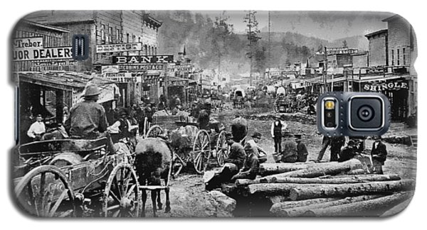 Deadwood South Dakota C. 1876 Galaxy S5 Case by Daniel Hagerman