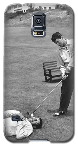 Dean Martin & Jerry Lewis Golf Galaxy S5 Case