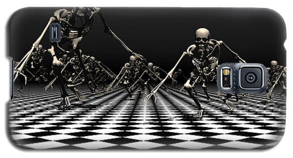 Galaxy S5 Case featuring the digital art Death Approaches by Claude McCoy