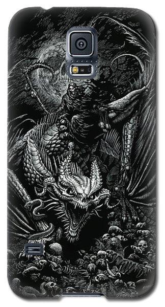 Death Dragon Galaxy S5 Case by Stanley Morrison